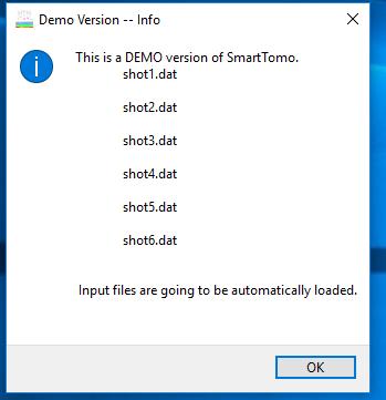 Avviso che si tratta di una versione demo del software smarttomo